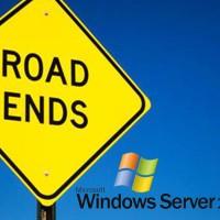 Windows Server 2003 road ends 2003